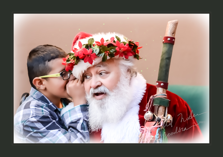 Tell Me Your Dreams (a boy whispering to Santa)
